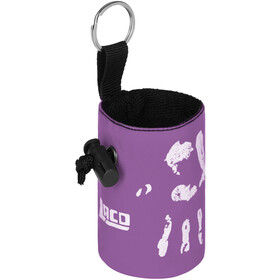 LACD Hand of Fate Chalk Bag with Belt dark purple